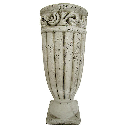 French Pottery Urn Planter
