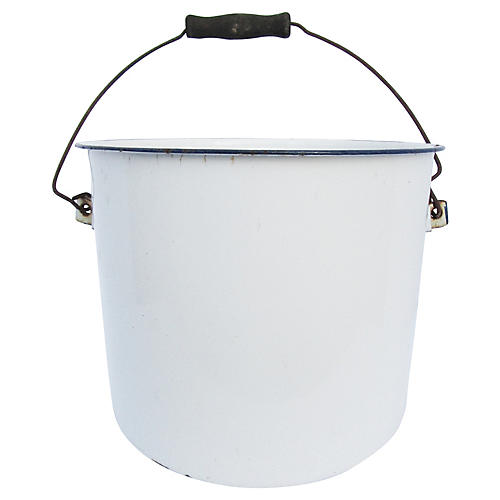 French Enamelware Bucket