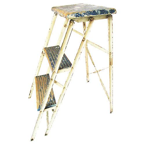 1950s Painter's Step Ladder