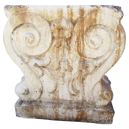 19th-C. French Garden Fragment