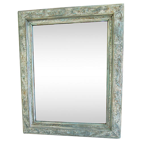 Painted French Wall Mirror