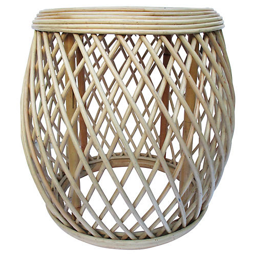 Vietnamese Bamboo Side Table