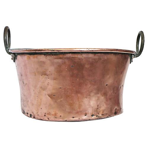 Antique French Copper Vessel