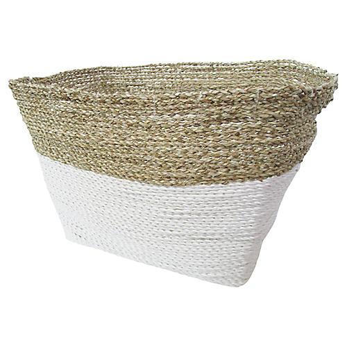 Woven Sea Grass Basket