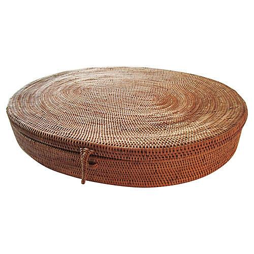 Antique Nigerian Basket
