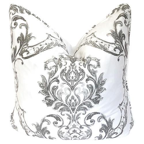 Italian Damask Pillow