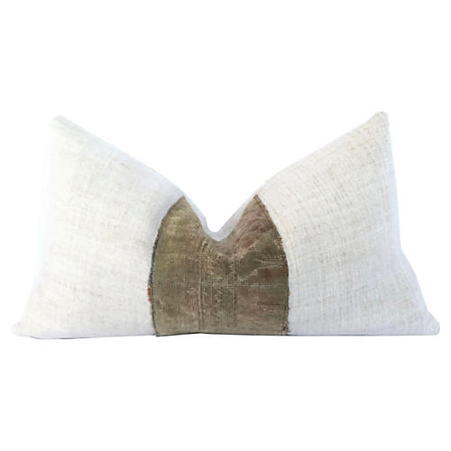 European Linen Kilim Pillow