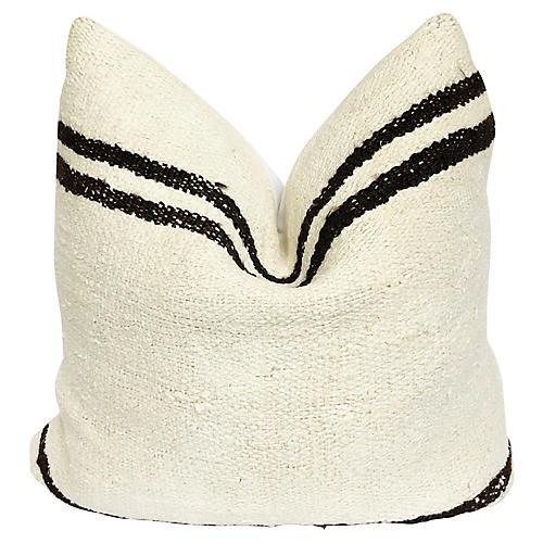Natural Hemp Kilim Pillow