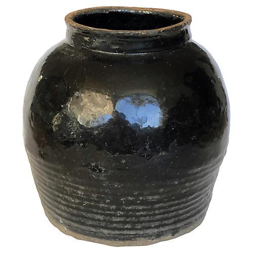 19thC. Chinese Shanxi Onyx Pot