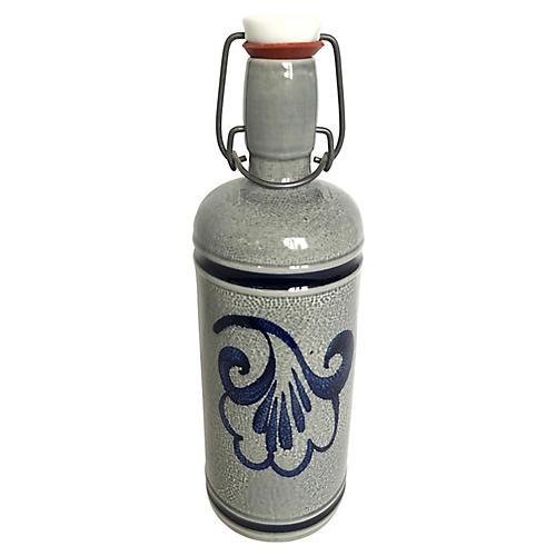 German Stoneware Bottle