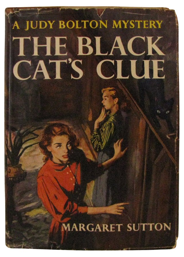 The Black Cat's Clue, 1952, 1st Ed