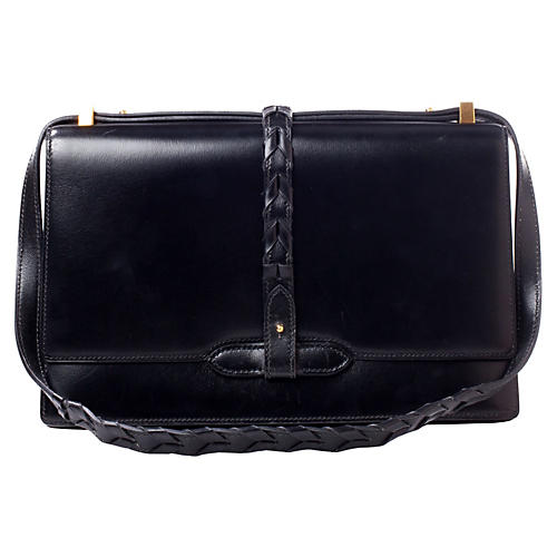 Hermès Black Box Shoulder Bag