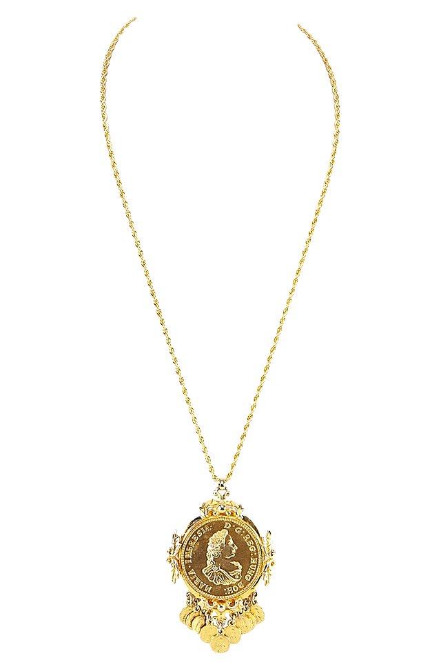 Pauline Rader Roman Pendant Necklace