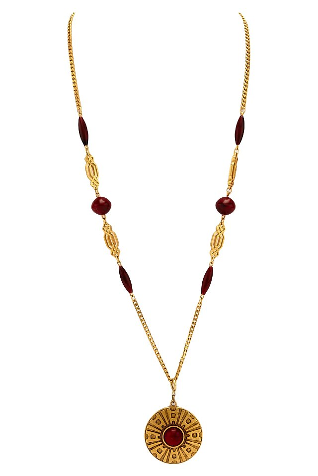 Sarah Coventry Medallion Necklace