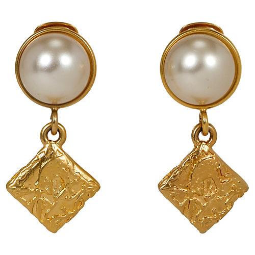 Ferragamo Gold-Plated Earrings