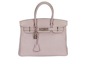Hermès 30cm Birkin Rose Dragee