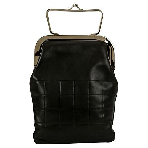 Chanel Black Evening Bag w/ Frame