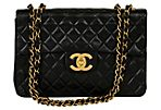 Chanel Black Maxi Classic Flap Bag