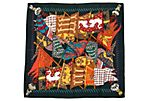 Hermès Flags Silk Scarf by Faivre