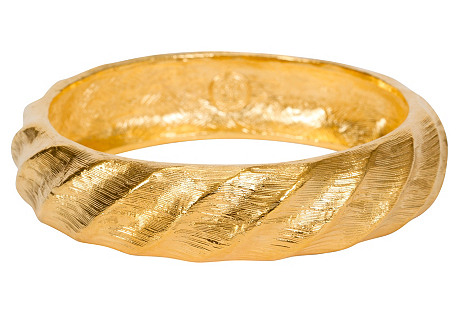 Givenchy Gold-Plated Bangle Bracelet