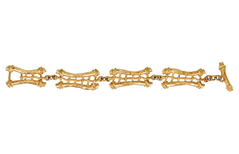 Guy Laroche Gold-Plated Toggle Bracelet