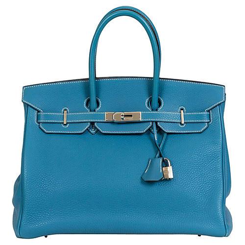 Hermès Birkin Blue Jean 35cm Togo