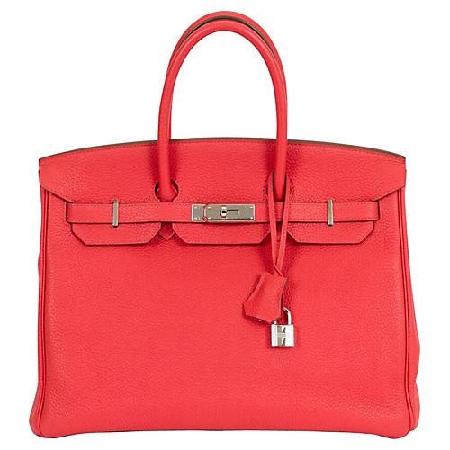 Hermès 35cm Rose Jaipur Birkin