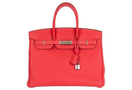 Hermès Rose Jaipur & Palladium Birkin