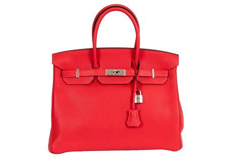 Hermès Birkin Rouge Pivoine