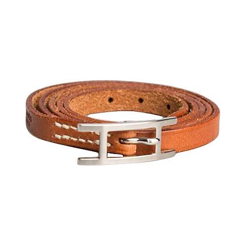 Hermès Gold Triple-Wrap Bracelet