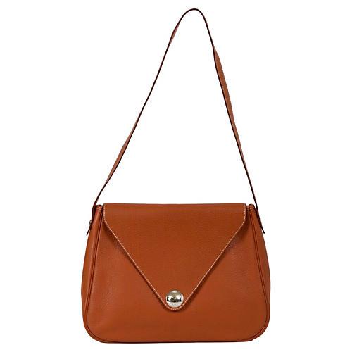 Hermès Gold Togo Shoulder Bag