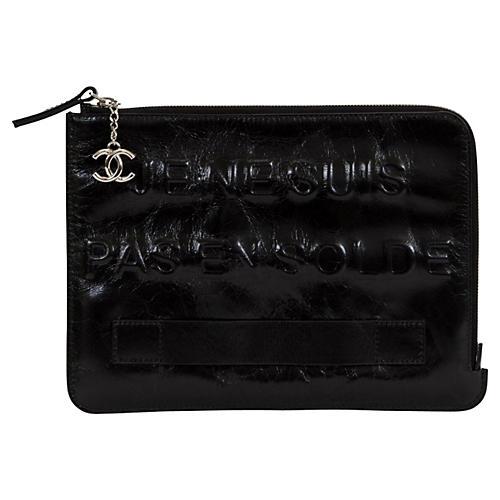 "Chanel ""Je Ne Suis Pas En Solde"" Bag"