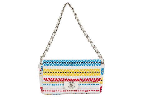 Chanel Multicolor Single Flap Bag