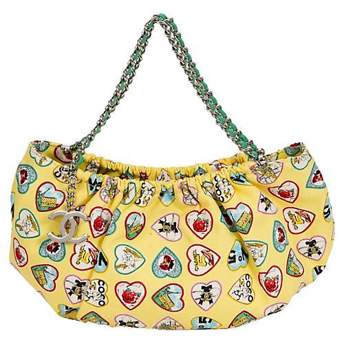 Yellow Chanel Summer Icons Bag
