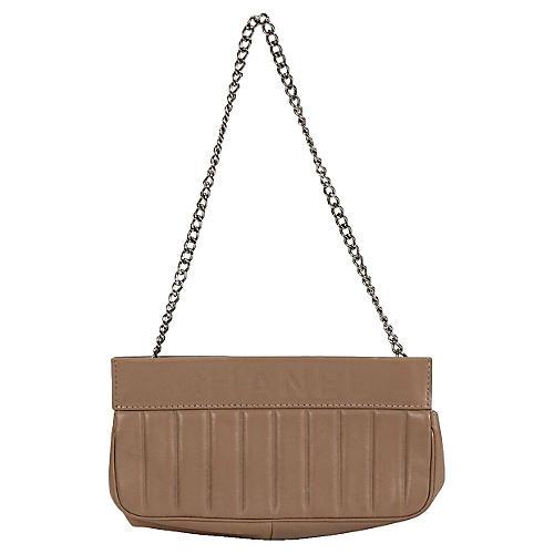 Small Chanel Etoupe Shoulder Bag