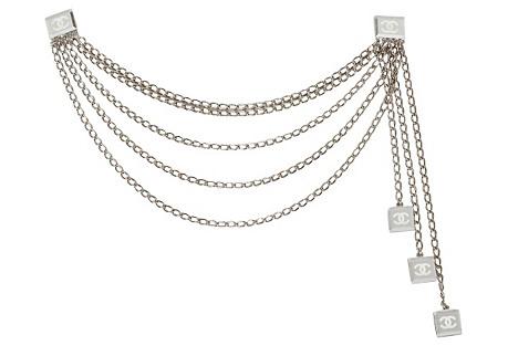 Chanel Multistrand Necklace/Belt Clip