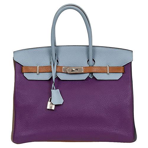 Hermès 35cm Harlequin Birkin. VINTAGEVintage Lux fb2dba617c