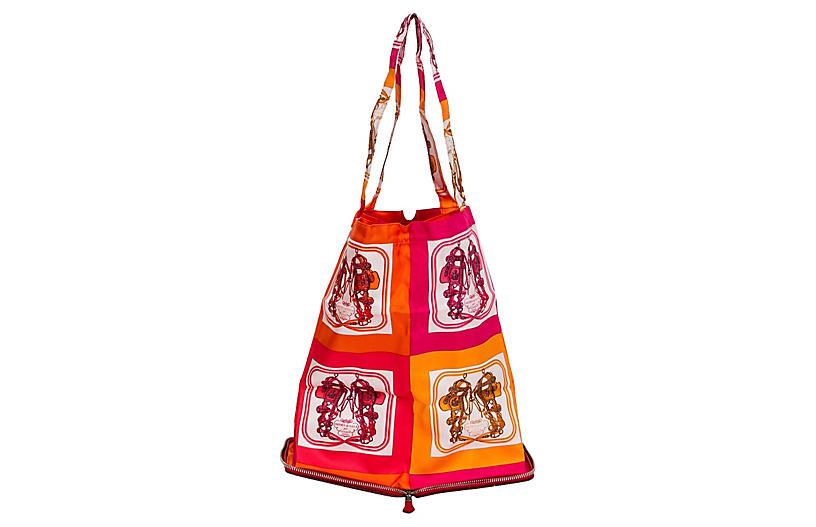 66dbda1a343e Hermès Red Silky Pop Bag - Vintage Lux - Top Vintage Dealers ...