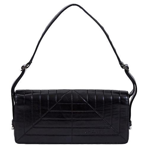 Chanel Black Lambskin Flap Bag