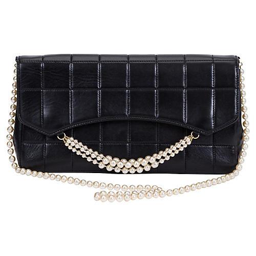Chanel Black & Pearl Evening Bag