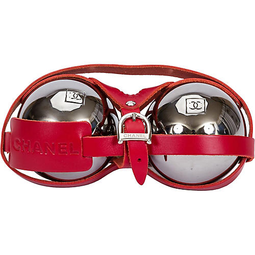 Chanel Bocce Ball Set, S/2