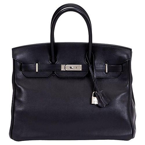 Hermès 35cm Black Vache Birkin