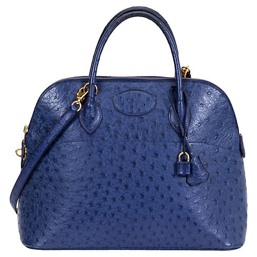 Hermès 35cm Ostrich Bolide Bag, 1994