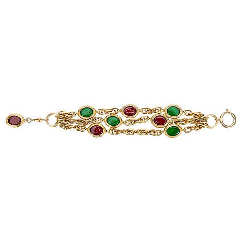 1970s Chanel Gripoix Bracelet