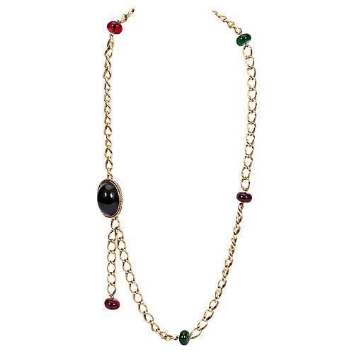 1970s Chanel Gripoix Belt/Necklace
