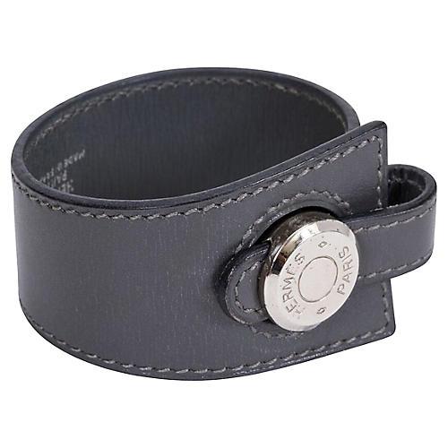 Hermès Graphite Clou de Selle Bracelet