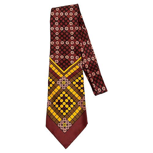 1970S Ungaro Silk Tie