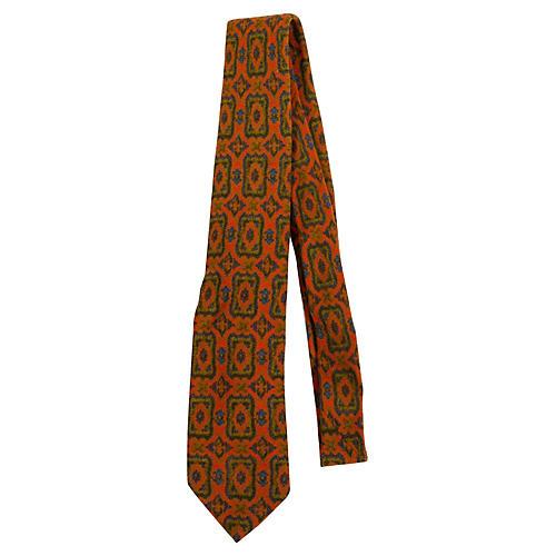 Donati Wool Paisley Tie
