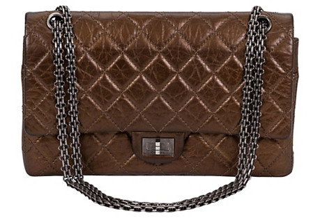 Chanel Bronze Double Flap Bag