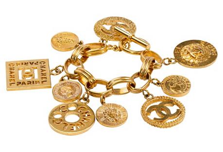 Chanel Oversize Charm Bracelet, 1993